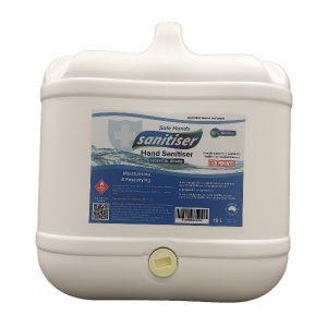 15 litre drum of hospital grade hand snaitiser